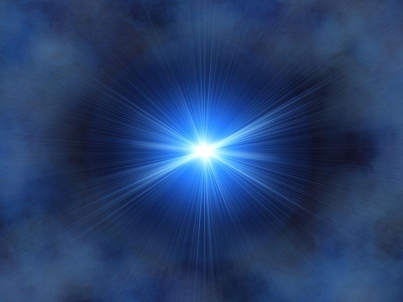 The Blue Light of Supreme Consciousness