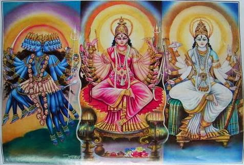 Kali Lakshmi Sarasvati-1
